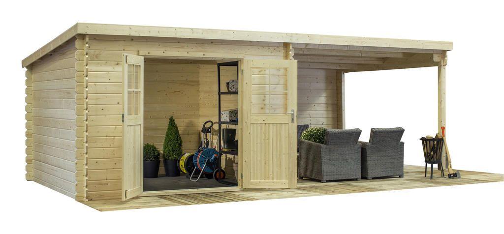 Abri de jardin Carroz 16.4 m² - Bois | Abris de jardin ...