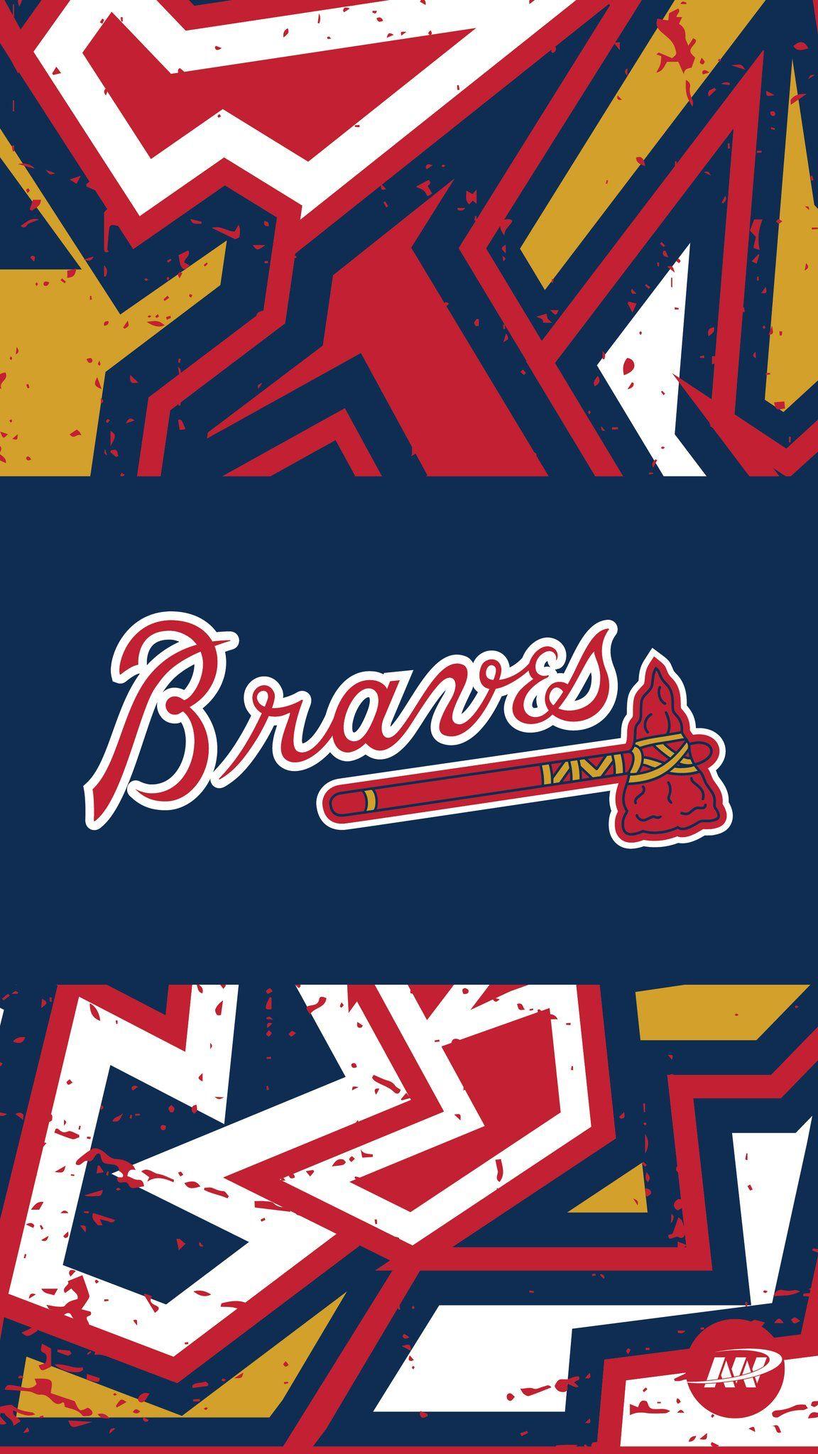 Pin By Nathaniel Guice On Sports City Atlanta Braves Wallpaper Atlanta Braves Iphone Wallpaper Atlanta Braves Logo