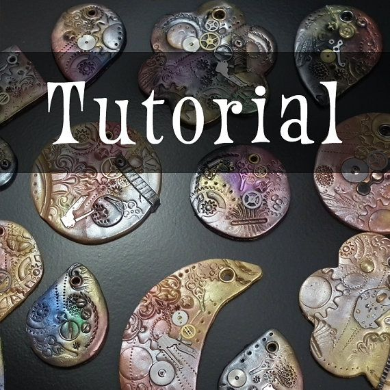 Tutorial steampunk polymer clay pendantornament instructions tutorial steampunk polymer clay pendantornament by gaylebird mozeypictures Image collections
