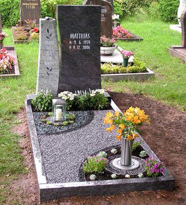 Grabgestaltung Motiv24 | Lapidas | Pinterest Grabgestaltung Ideen Blumen Pflanzen Deko