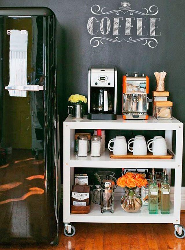 Pequeno Aparador Para Cantinho Do Café