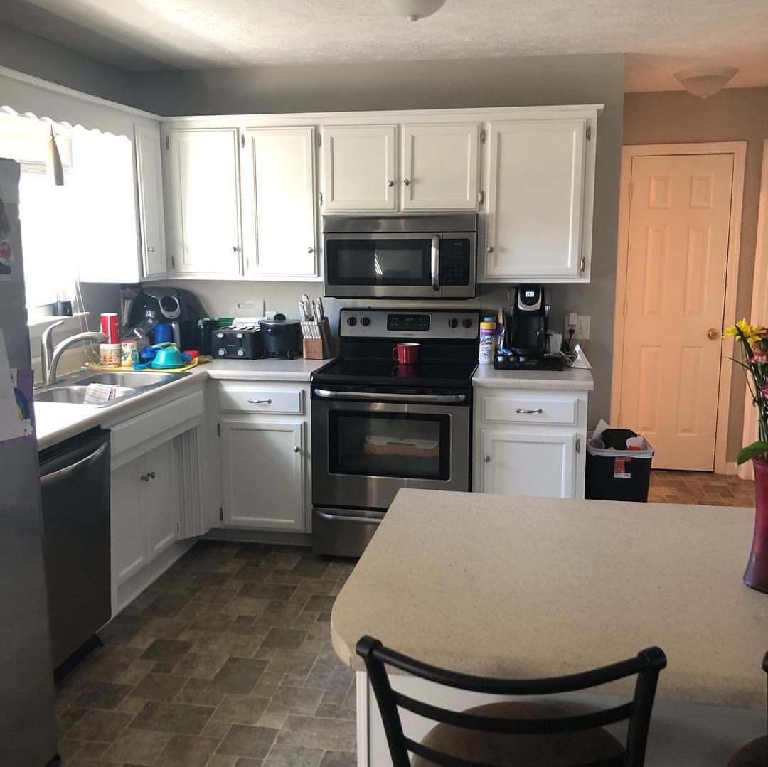 Kitchen cabinets after! #cabinets #finisher # ...
