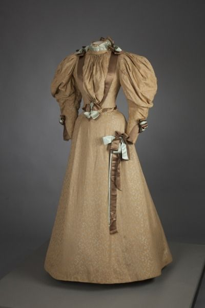Wedding Gown     c 1890's Fripperies and Fobs