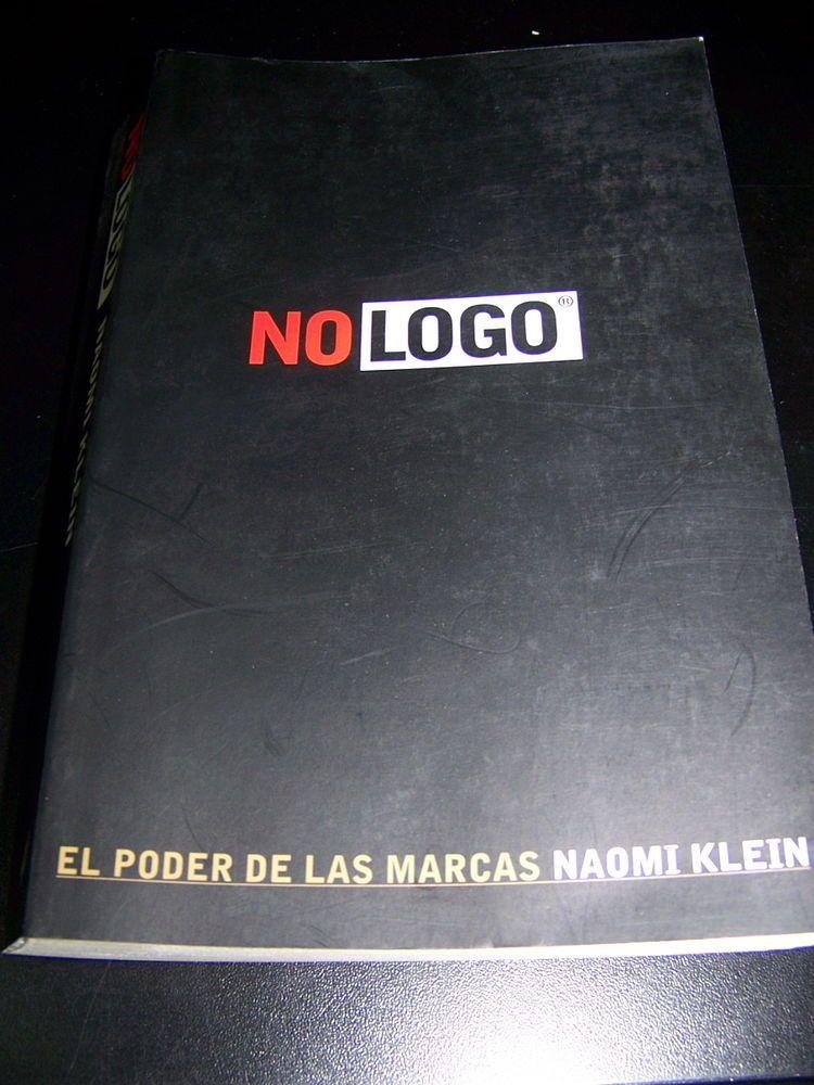 Libro No logo de Naomi klein