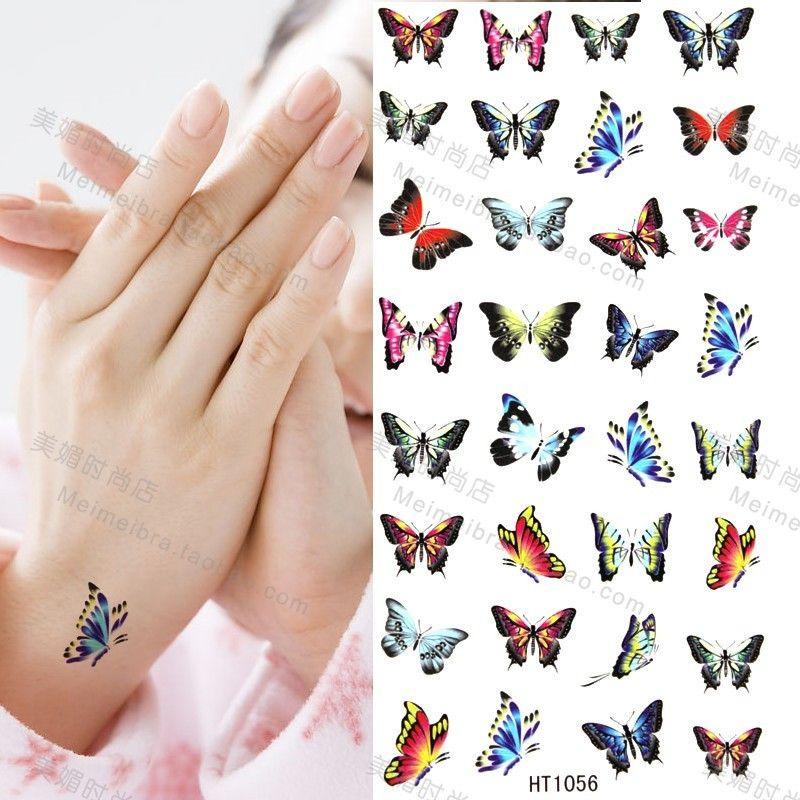 Butterflies Tattoo Designs For Wrist Butterfly tattoo
