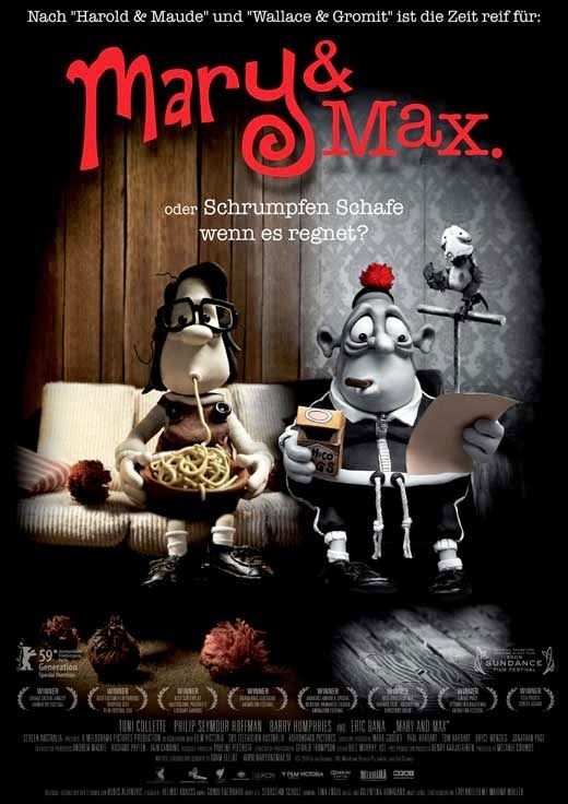 Mary And Max 2009 Maryandmax Melodramapictures Movie Moviereview Movieposter Animation Film Friendship Animationsfilme Filme Filme Kostenlos Online