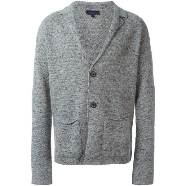Lanvin speckled knit cardigan ($1,445) ❤ liked on Polyvore ...