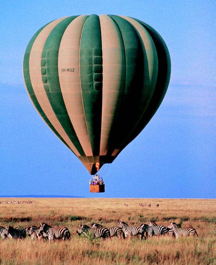 montgolfiere tanzanie