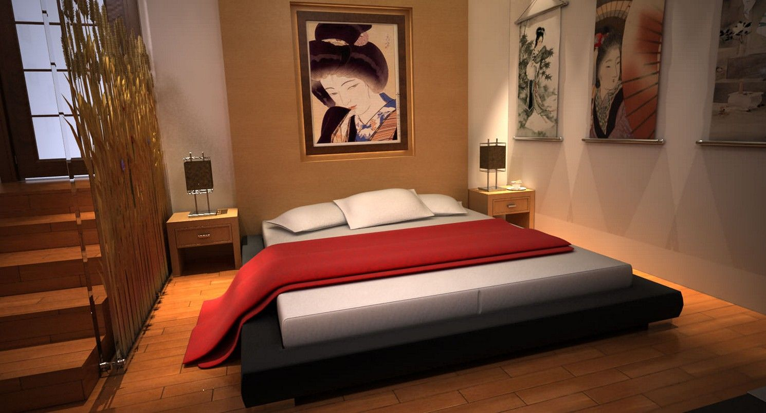 Five East Asian Inspired Bedroom Ideas | Bedrooms, Japanese bedroom and  Asian bedroom