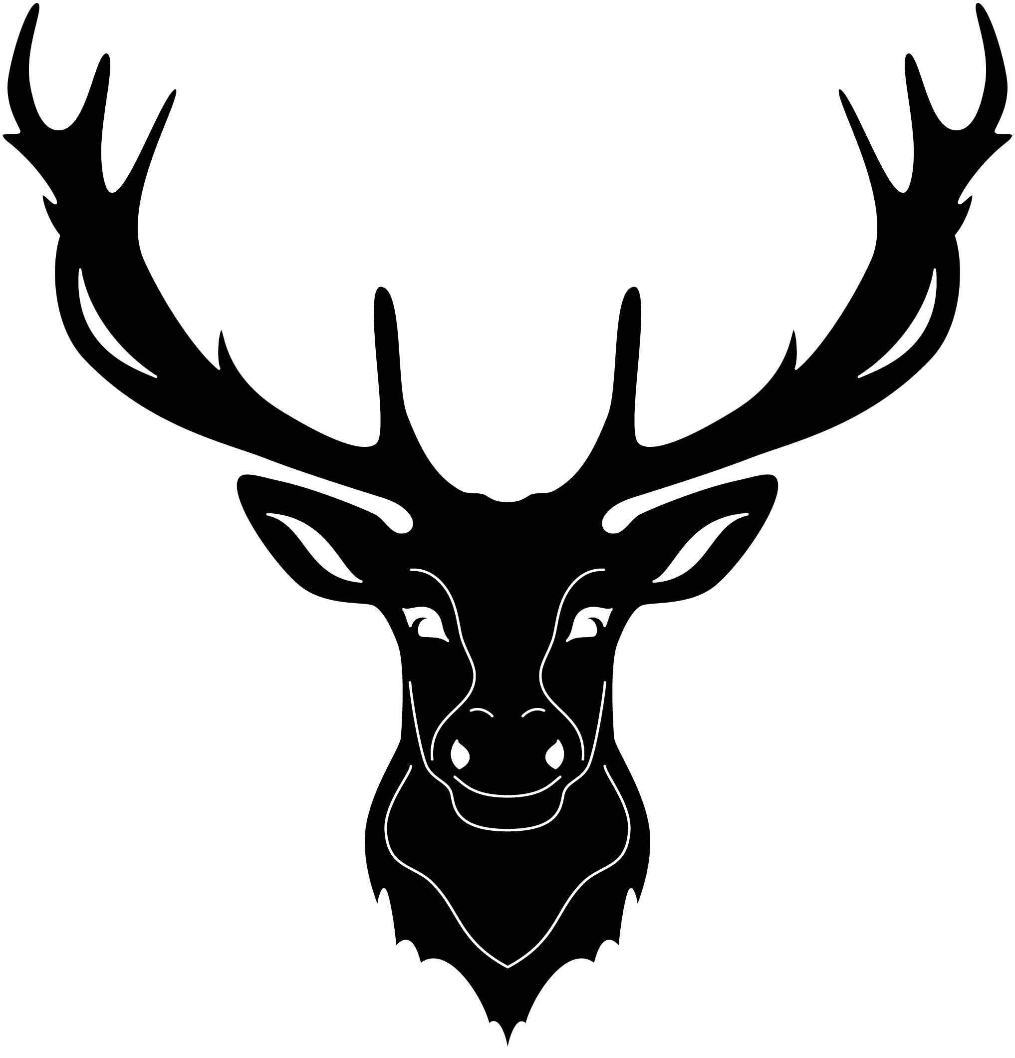 Deer and moos free dxf files in 2020 dxf deer dxf files