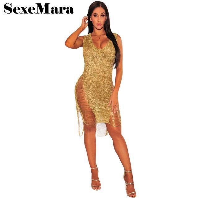 abca09ddaf ... Hollow Out Crochet Bodycon Dress. Designer Fashion Sexy