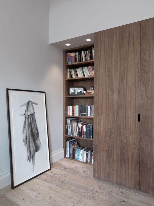 Sliding closet doors Luan door | white trim & Sliding closet doors Luan door | white trim | small space ...