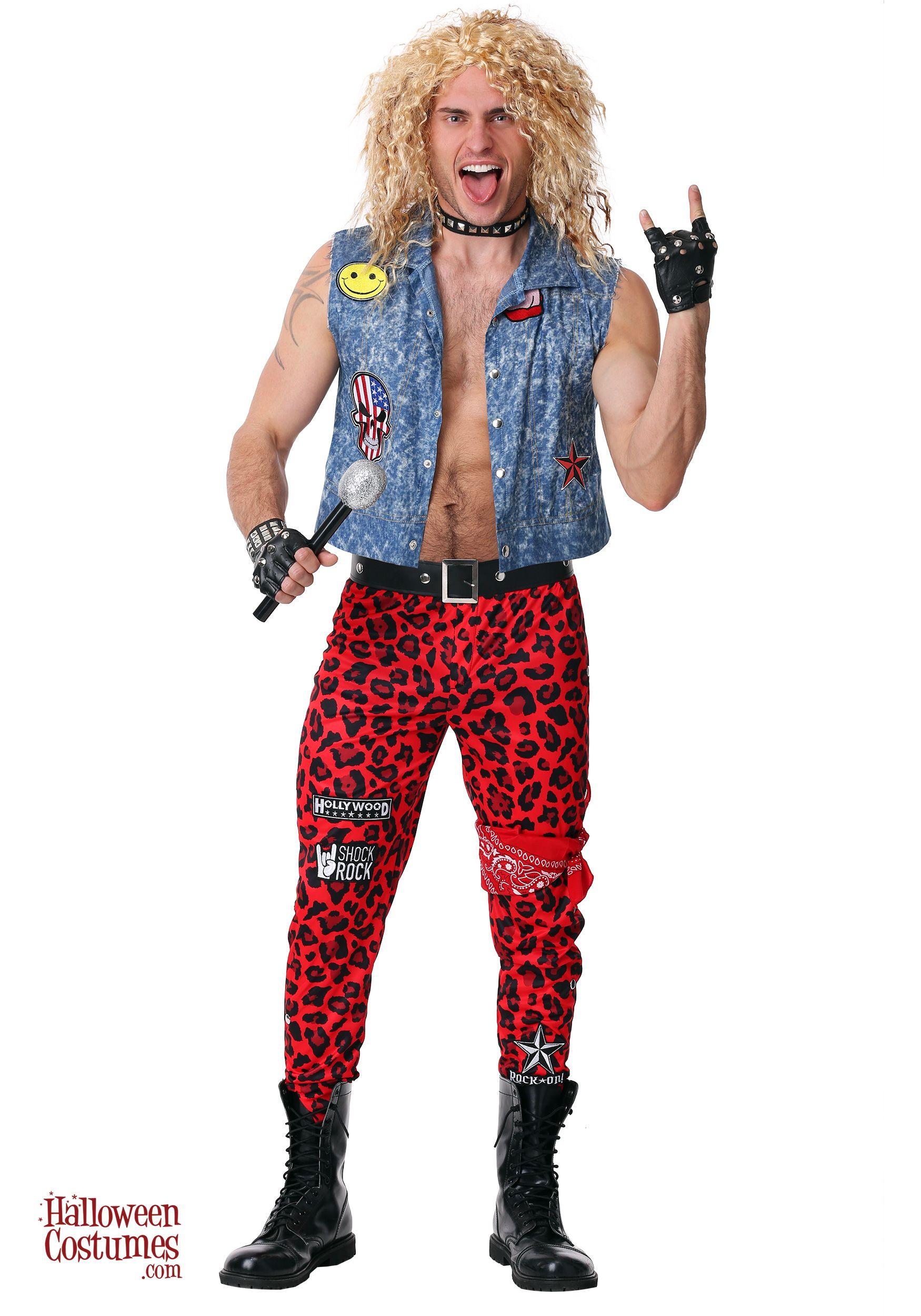 80's Rocker Men's Costume Rocker costume, 80s rocker