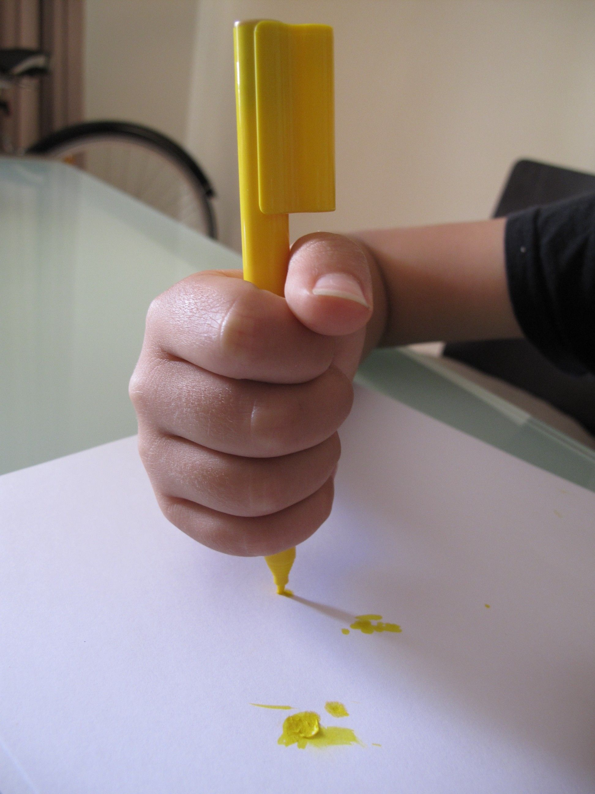 Parent S Pencil Grasp Gripping Guide