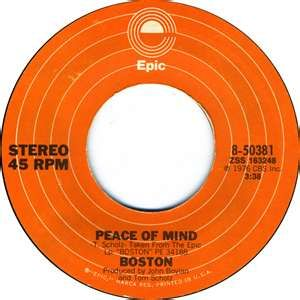 Boston-Peace of Mind 1976