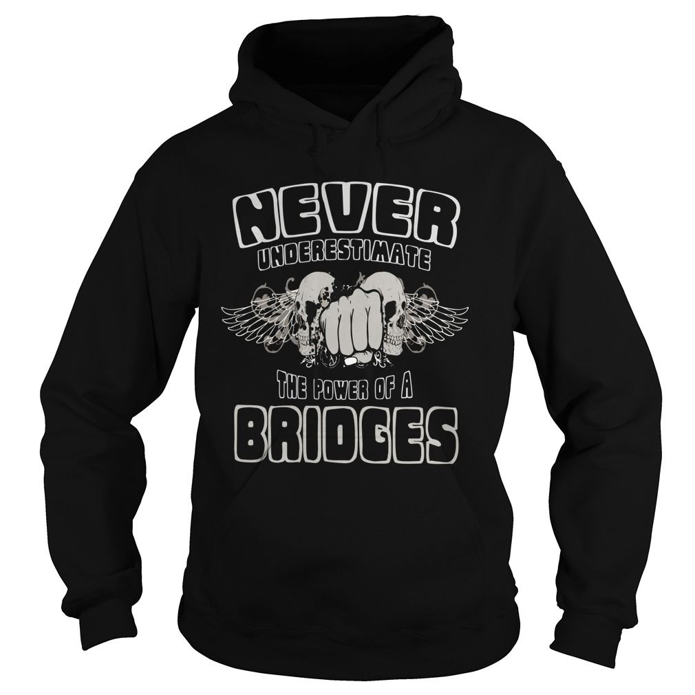 TeeForBridges  Never Underestimate The Power Of Bridges