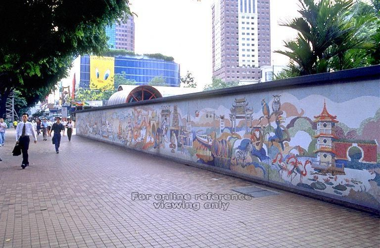Old Orchard MRT Station--is this not there anymore