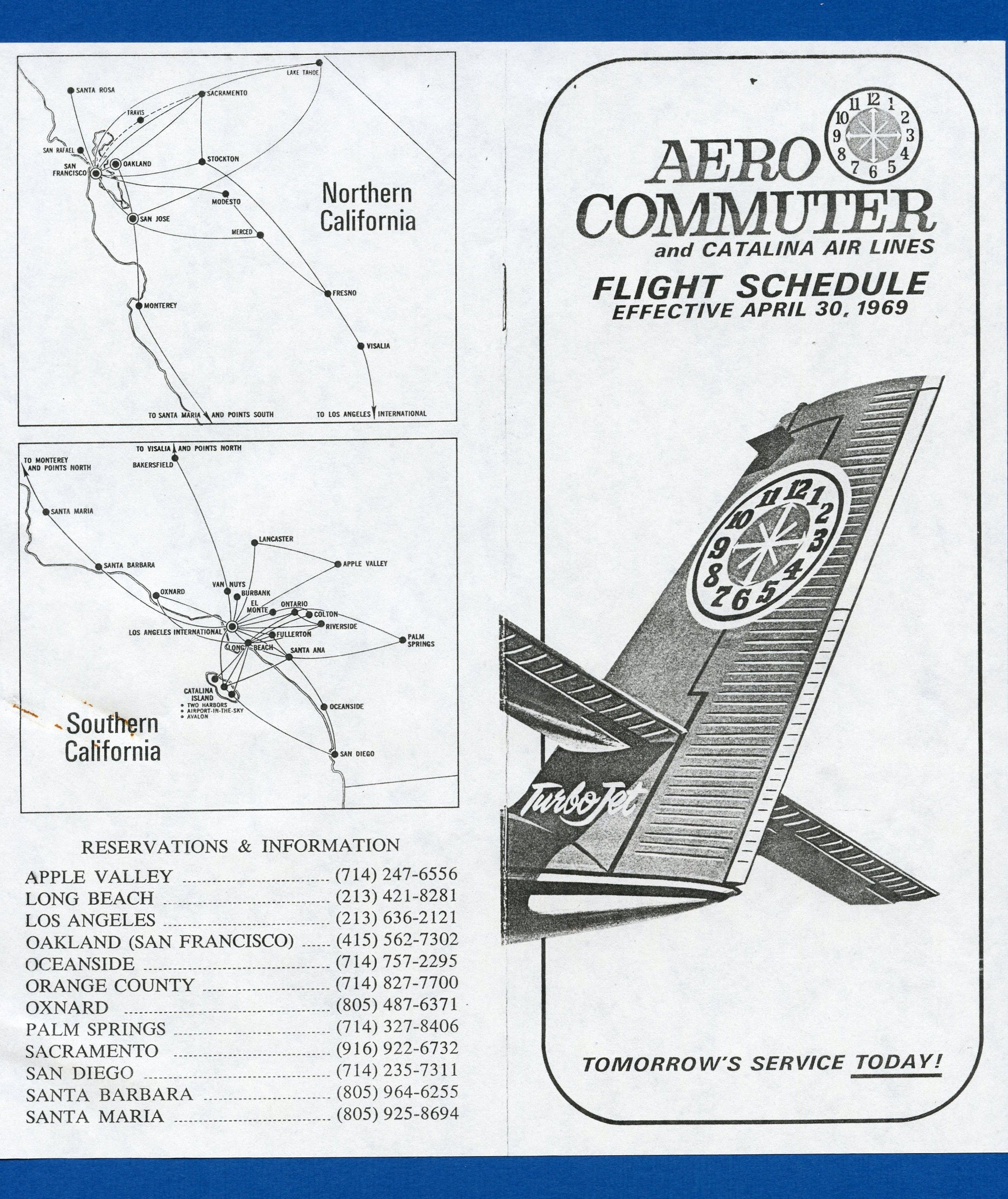 Aero Commuter One of the airlines Golden West Airlines