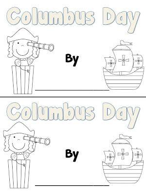 Columbus Day Book Kindergarten Social Studies Teaching First Grade October Classroom