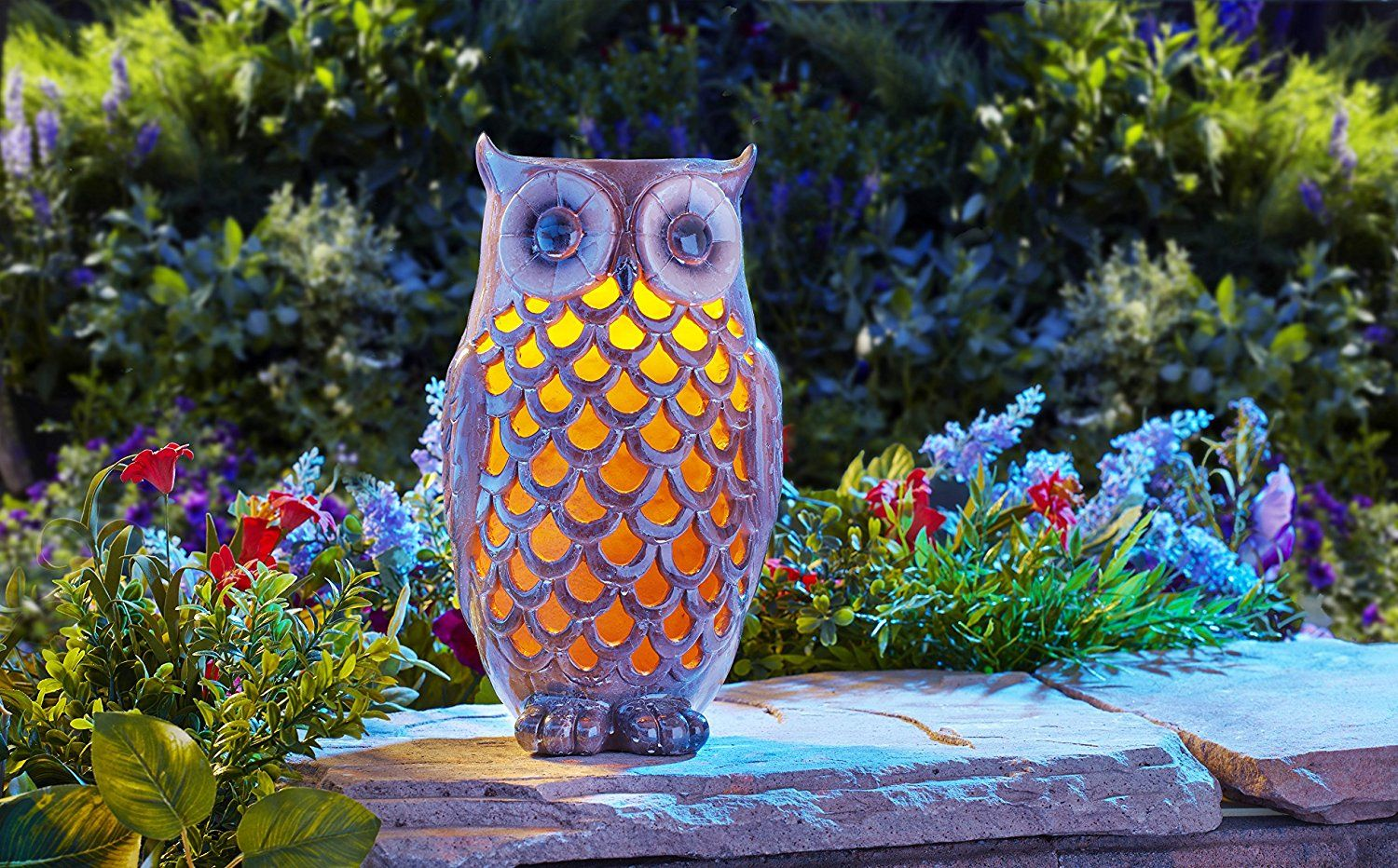 owl solarlight outdoor amazon (With images) Outdoor