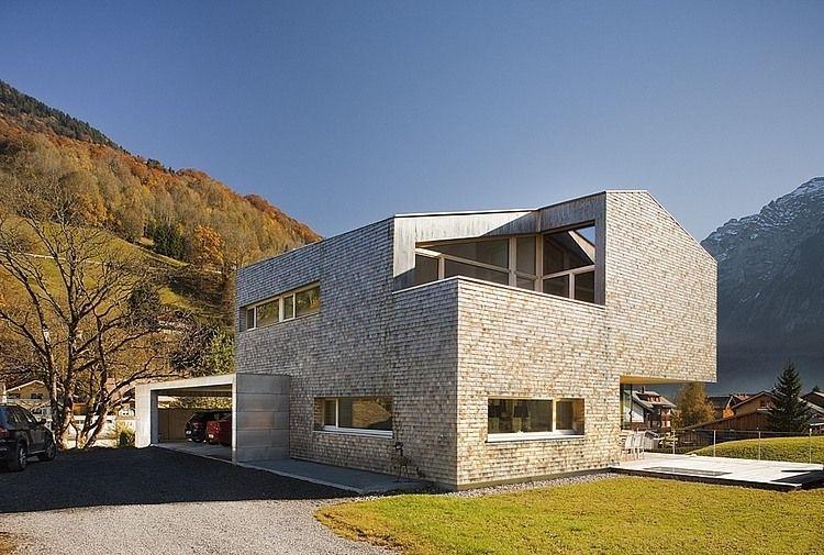 House Haller By Jurgen Haller Homeadore Architektur Modernes Bauernhaus Aussen Architektur Innenarchitektur