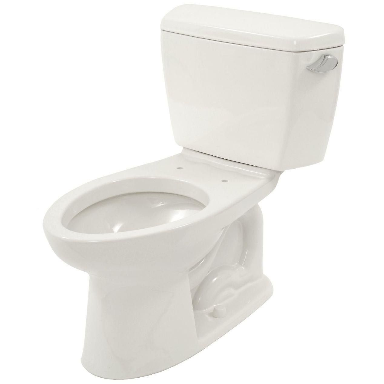 Toto Drake 2-piece Ada Toilet with Elongated Bowl and Right Hand ...
