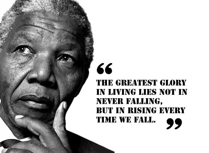 Top 21 Inspirational Quotes By Nelson Mandela To Follow Top Quotes