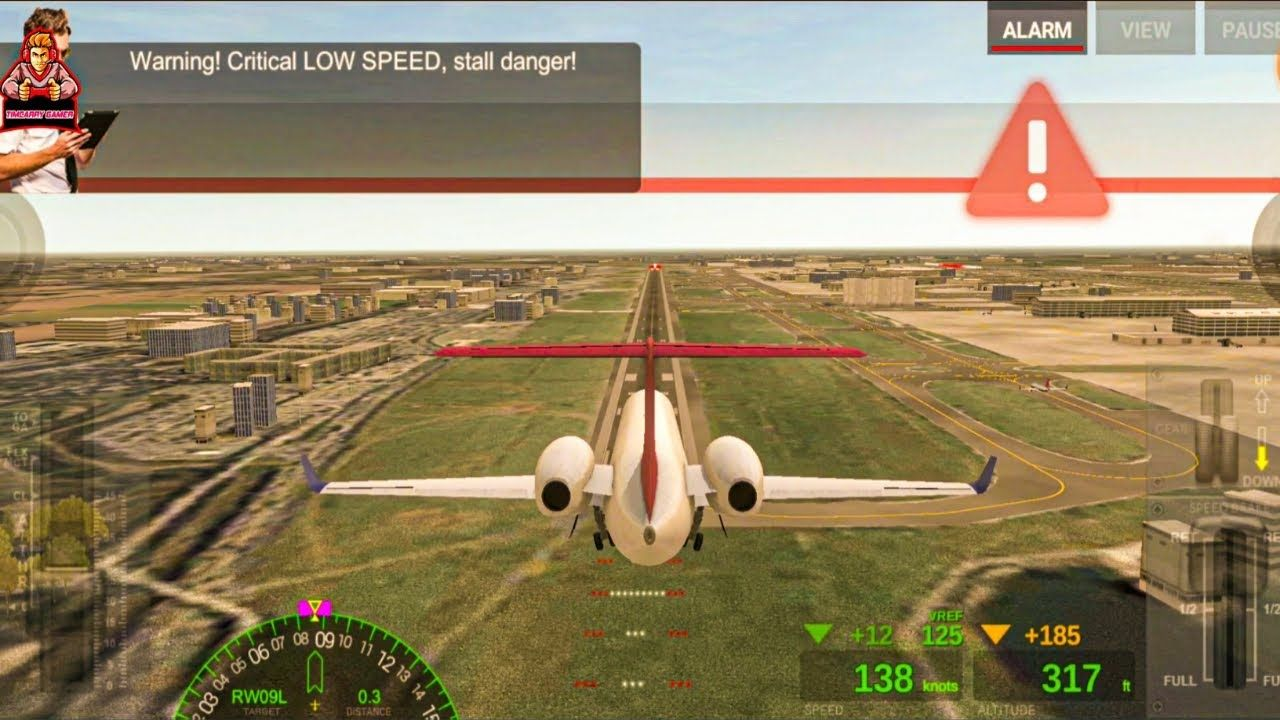 Airline Commander Game New Update Android Ios Flight Landing On Airline Cdr Gameplay