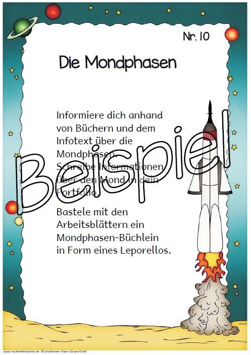 Grundschule Material kostenlos Arbeitsblätter | Weltall | Pinterest ...