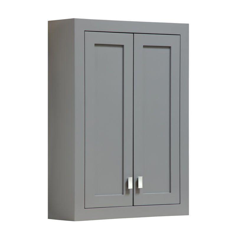 Crisler 24 W X 33 H Wall Mounted Cabinet Wall Mounted Cabinet Wall Mounted Bathroom Cabinets Wall Cabinet