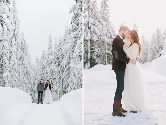 Image Result For Snow Photoshoot Wedding Winter Photoshoot