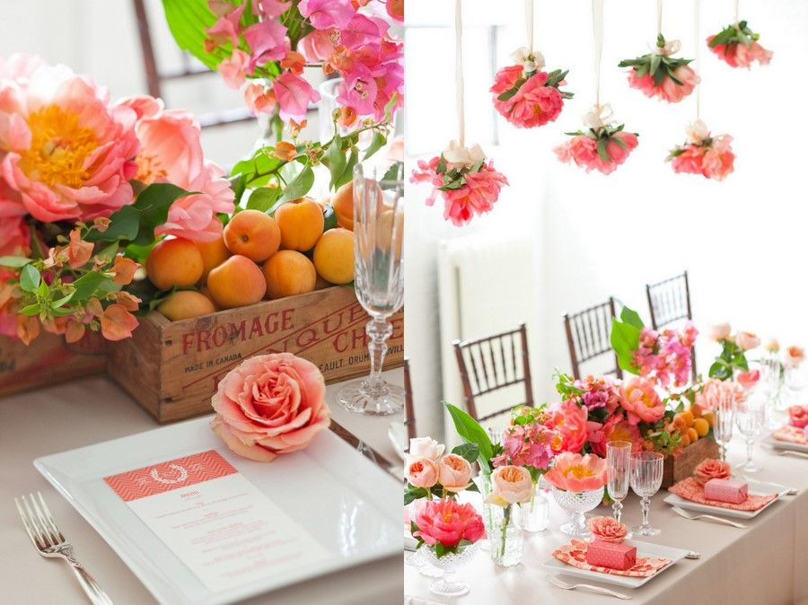 Pink and Peach Inspiration
