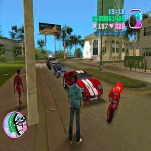 Grand Theft Auto GTA Vice City Game Download At Pc Full
