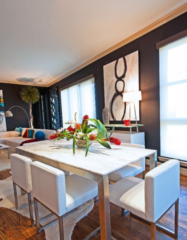 dining-table dining Pinterest Contemporary dining rooms