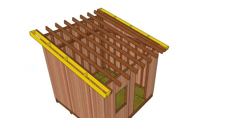 10x10 Lean To Shed Roof Plans Howtospecialist How To Build Step By Step Diy Plans Shed Roof Lean To Roof Roof Plan