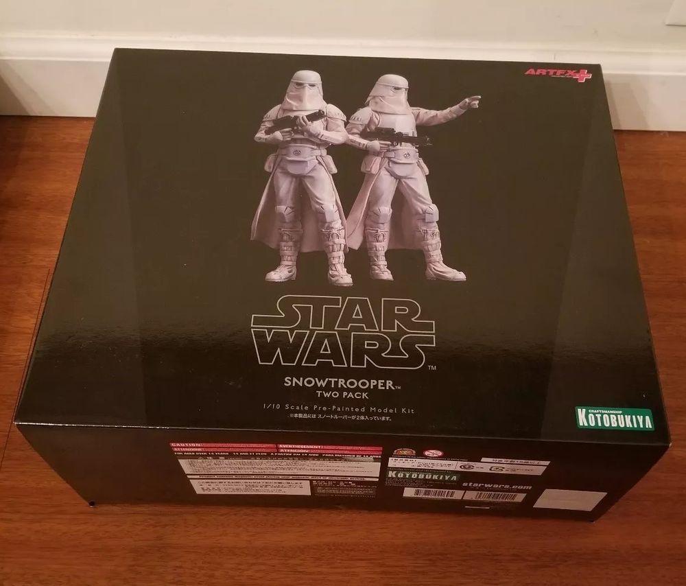 Statue Pack Of 2 Snowtrooper Artfx Kotobukiya Star Wars