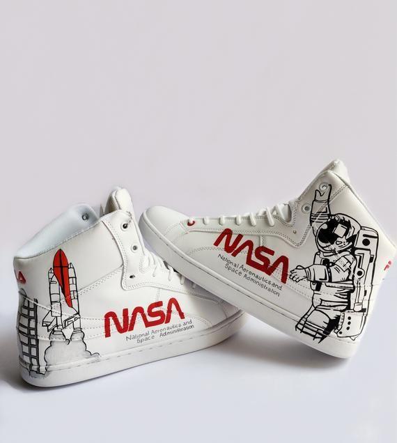 NASA sneakers in 2020 | Nasa, Painted shoes diy, Sneakers