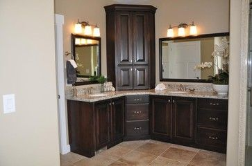 Corner Vanity Design Ideas Pictures Remodel And Decor Corner