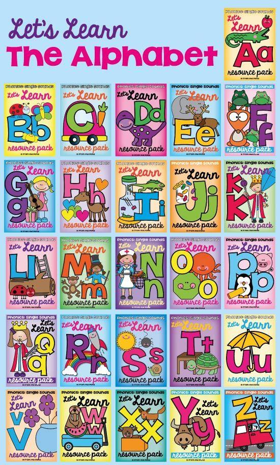 Alphabet Back to School Beginning Sounds | Classroom | Pinterest ...