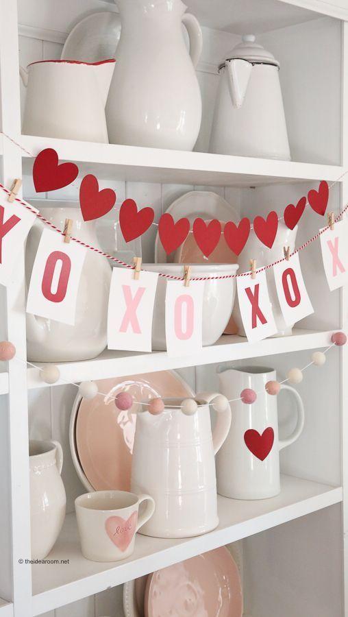 #valentines Tagesshooting für Erwachsene VALENTINE'S DAY DECORATIONS