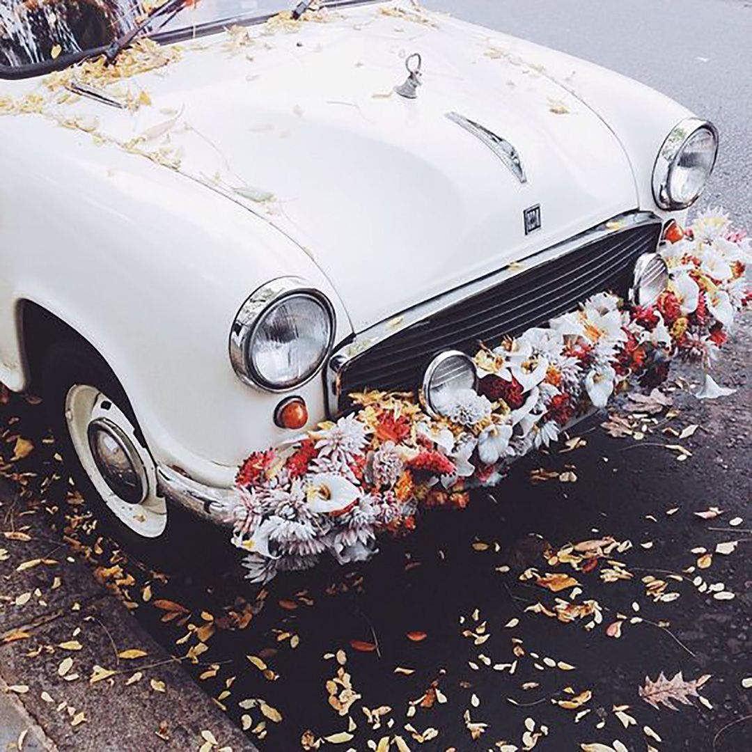 FESTIVAL BRIDES | Exit Strategy – Wedding Getaway Car Trends for 2016