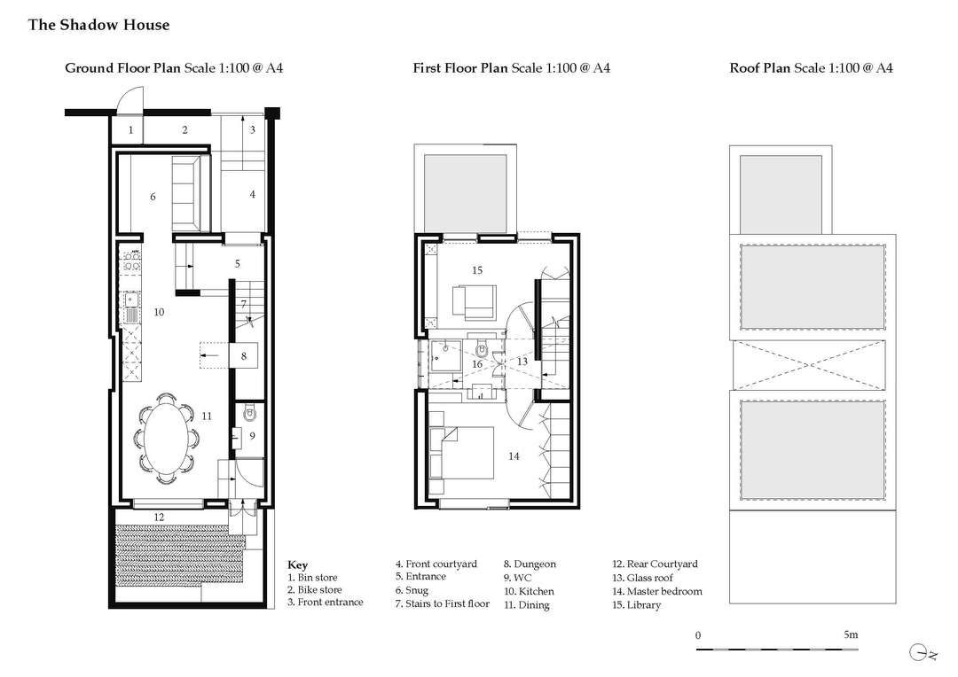 The Shadow House House And Home Magazine Architecture Plan Ground Floor Plan