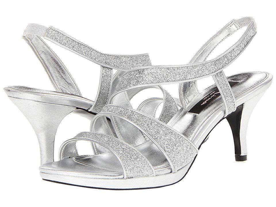 dc36d534708 Nina Genaya (New Navy Luster Satin) High Heels. Add a dazzling touch of  elegance to your evening ensemble with the Nina Genaya sandal.