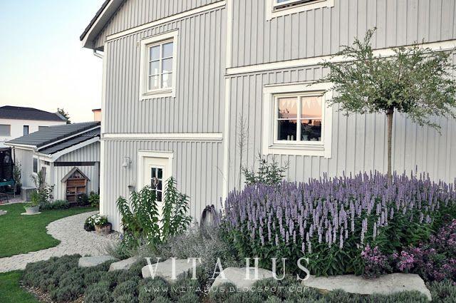 VitaHus *: Garten Hausfarbe Ral 7047 / Telegrau 4 | B A C K Y A R D ...