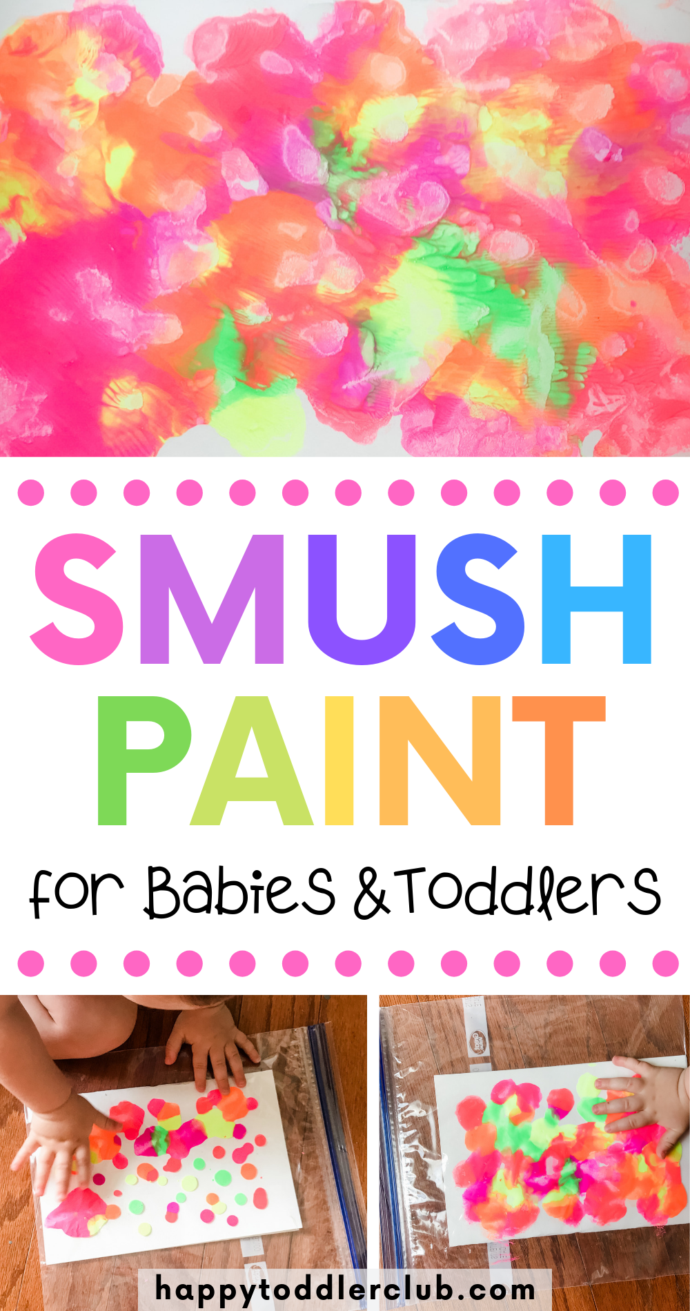 EASY & BEAUTIFUL ART FOR KIDS - a DIY craft easy enough for babies and gorgeous enough to hang on the wall! Perfect indoor activity for babies, toddlers, or even older kids. This DIY can be saved as wall art, a homemade greeting card, etc. - endless possibilities with this project! And the best part is there is zero mess involved!