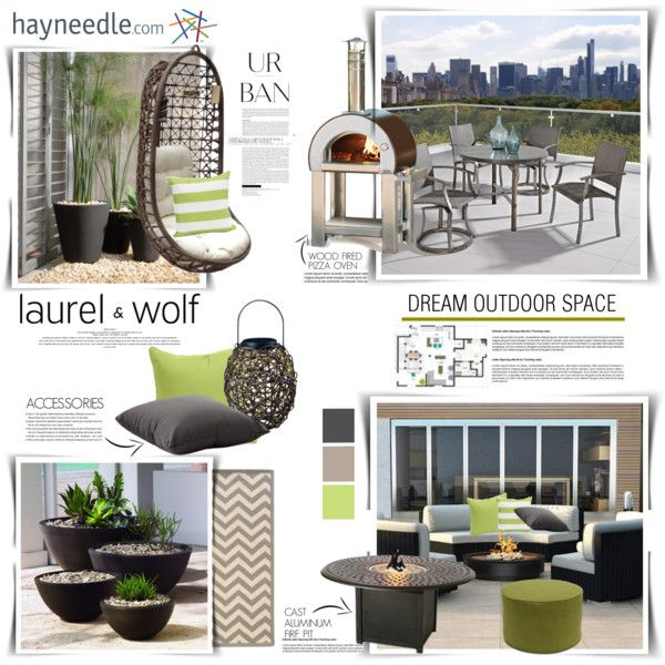Dream Urban Outdoor Space With Hayneedle.com by margaretferreira on ...