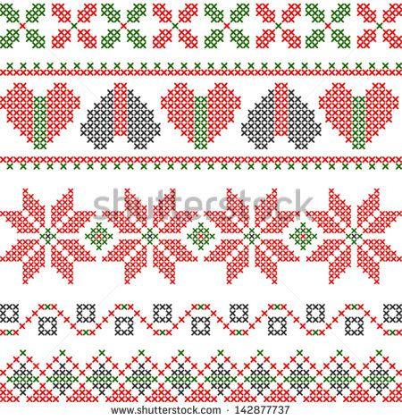 cross stitch geometric designs - Поиск в Google