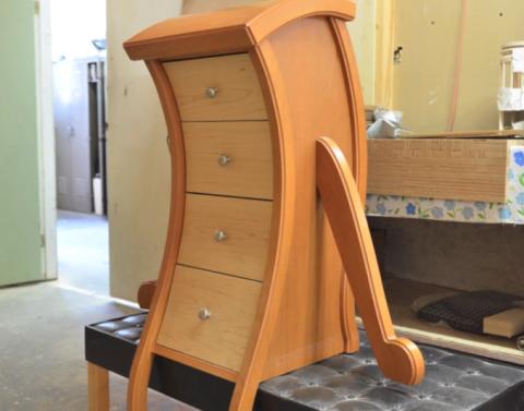 3Dプリント技術を使って木製家具を作る