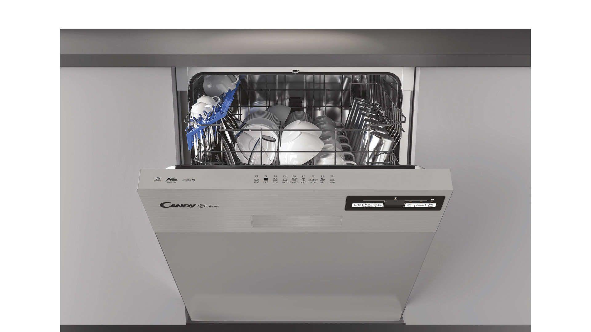 Lave Vaisselle 60 Cm Integrable Candy Cdsn2d360px En 2020 Lave Vaisselle Lave Vaisselle Encastrable Vaisselle