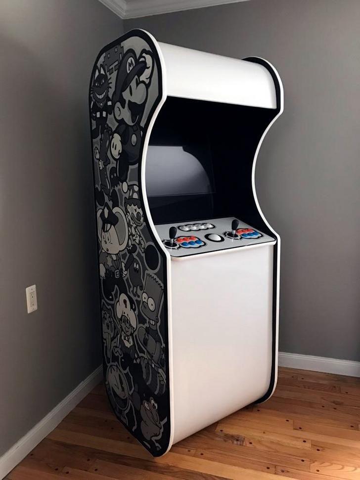 Mame Cabinet Build Arcade Room Mame Cabinet Diy Arcade Cabinet